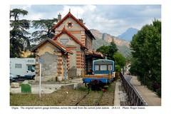 Digne. Old narrow gauge station. 24.8.13