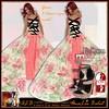 ALB CHERRY gown roses 5 classic mesh & heels to SLink Maitreya Belleza - by AnaLee Balut