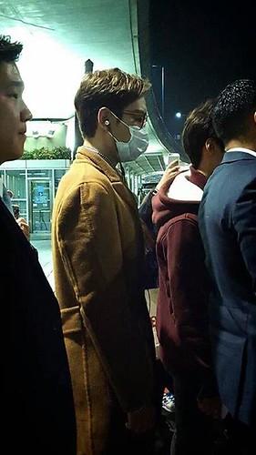 TOP Arrival Seoul 2015-11-06 TOPTaiwan