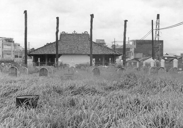 Mausoleum near TSN - Jim White July 1970 (3)