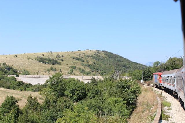 Bahnfahrt von Zagreb nach Rijeka