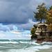 Chapel Rock and Lake Superior - Upper Peninsula of Michigan by Craig - S