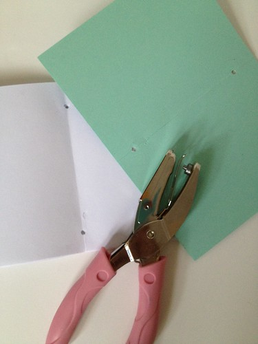 5a - Decorative Wrapping Paper Notebook Tutorial