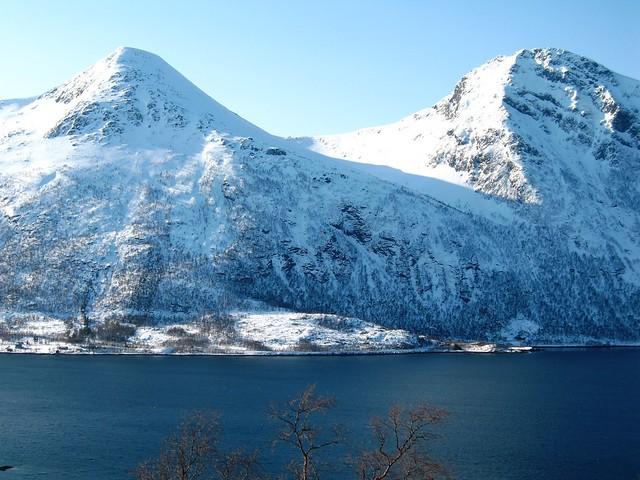 View from Lihallen kulturgård, Sigerfjord