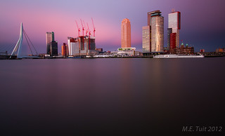 358 seconds of Rotterdam skyline