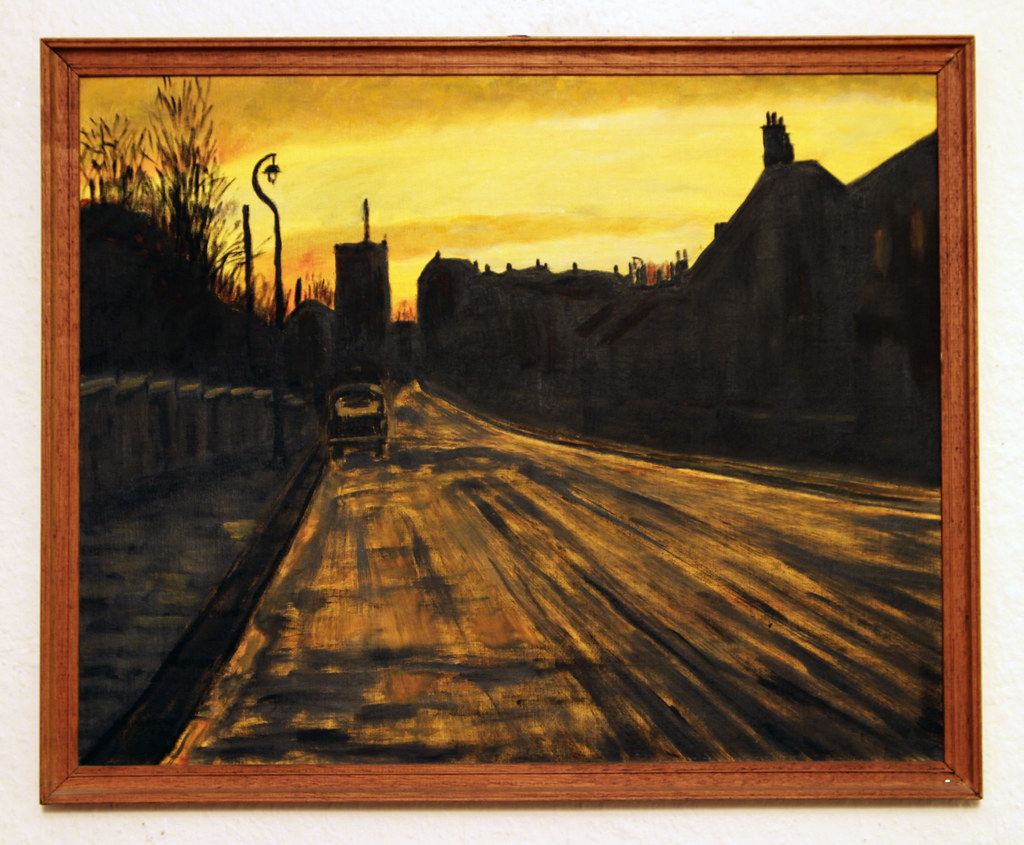 Winter Sunset, The Avenue, 1965