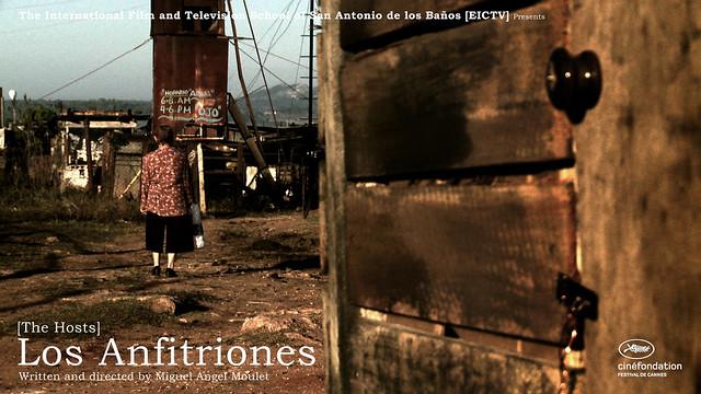 """""""Los anfitriones"""" - tarjeta de presentacion Cannes"""