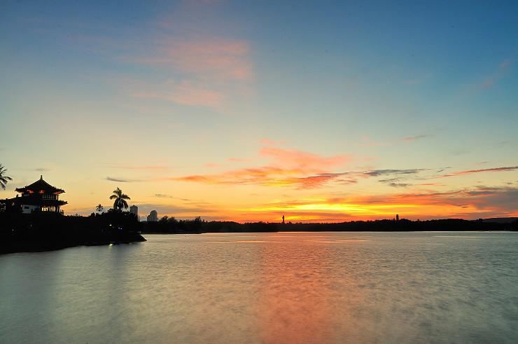 最近跑高雄夕陽、夜景