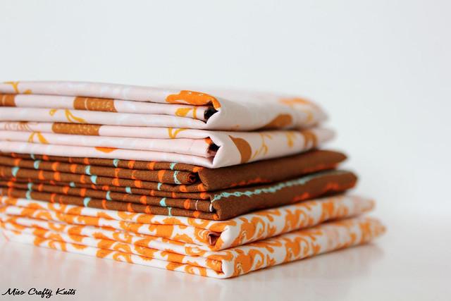 Mendocino Handkerchiefs - Folded