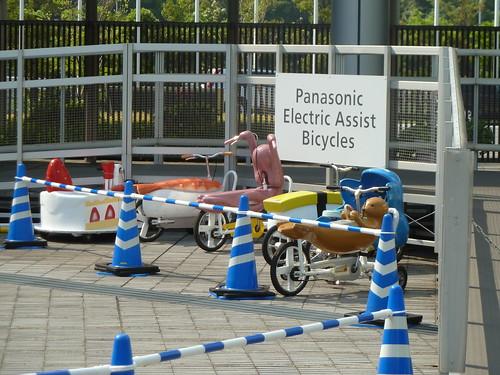 おもしろ自転車体験@有明アスレチックワールド2 in パナソニックセンター東京