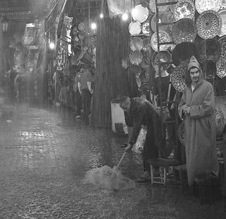 Raining cats and dogs in the souk