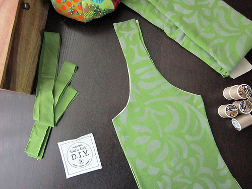 Anna's Garden DIY dress kit