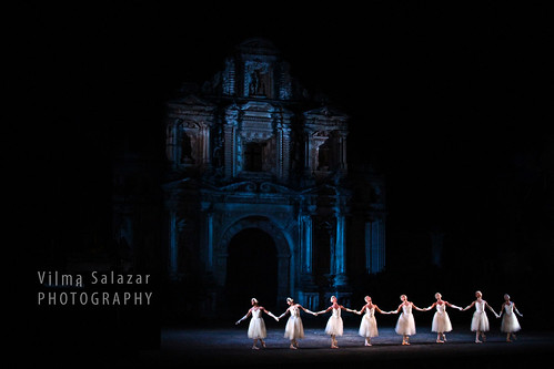 Ballerinas in Blue by Vilma Salazar