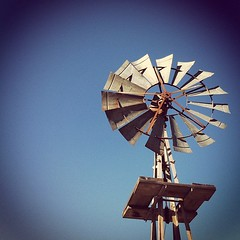 city slicker was in the country! #windmill #instagram #iphone