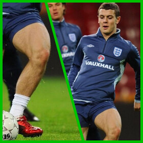 Muscular Thighs of Jack Wilshere