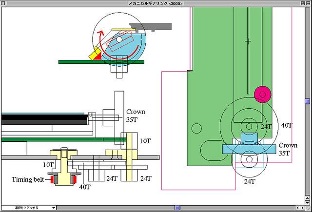 Analog link mechanic