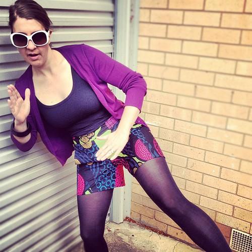 Iris Shorts Dancing