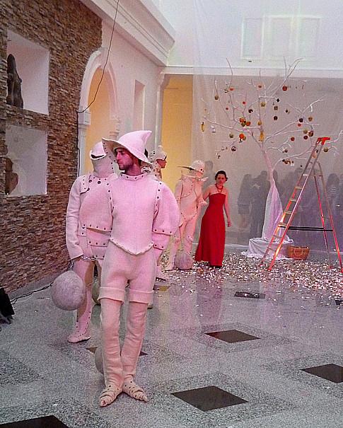 Минск Ночь музеев 2012 Рыцари в валенных доспехах и древо жизни 2