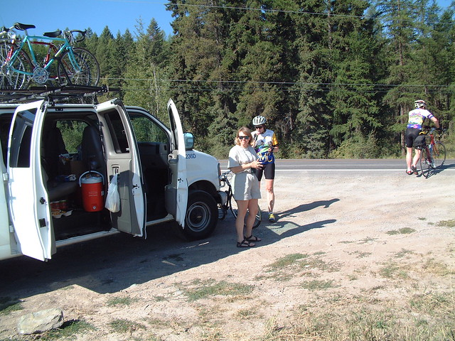 Rest stop on Whitefish Stage Road