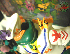 Mutant Military  TEENAGE MUTANT NINJA TURTLES ::  MIDSHIPMAN MIKE xix / ..eyepatch fishies (( 1991 ))