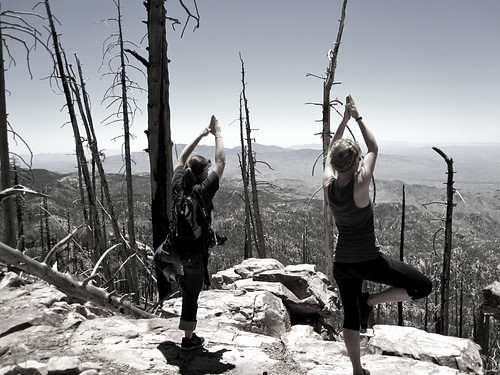 Mountaintop Yoga