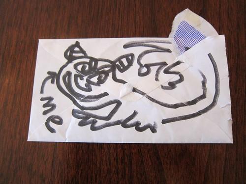 Tootho's envelope