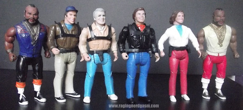 A-Team group shot from Galoob