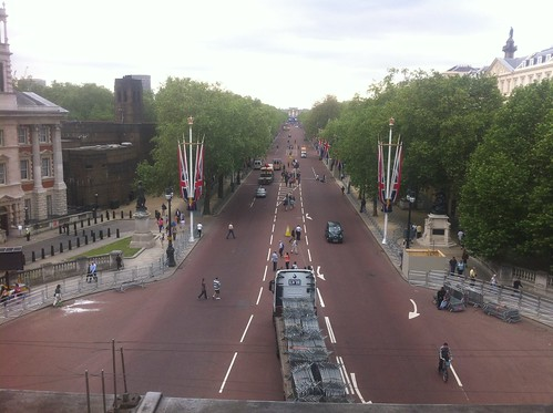 View from Admiralty Arch