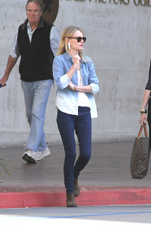 Kate Bosworth Denim Shirt Celebrity Style Woman's Fashion