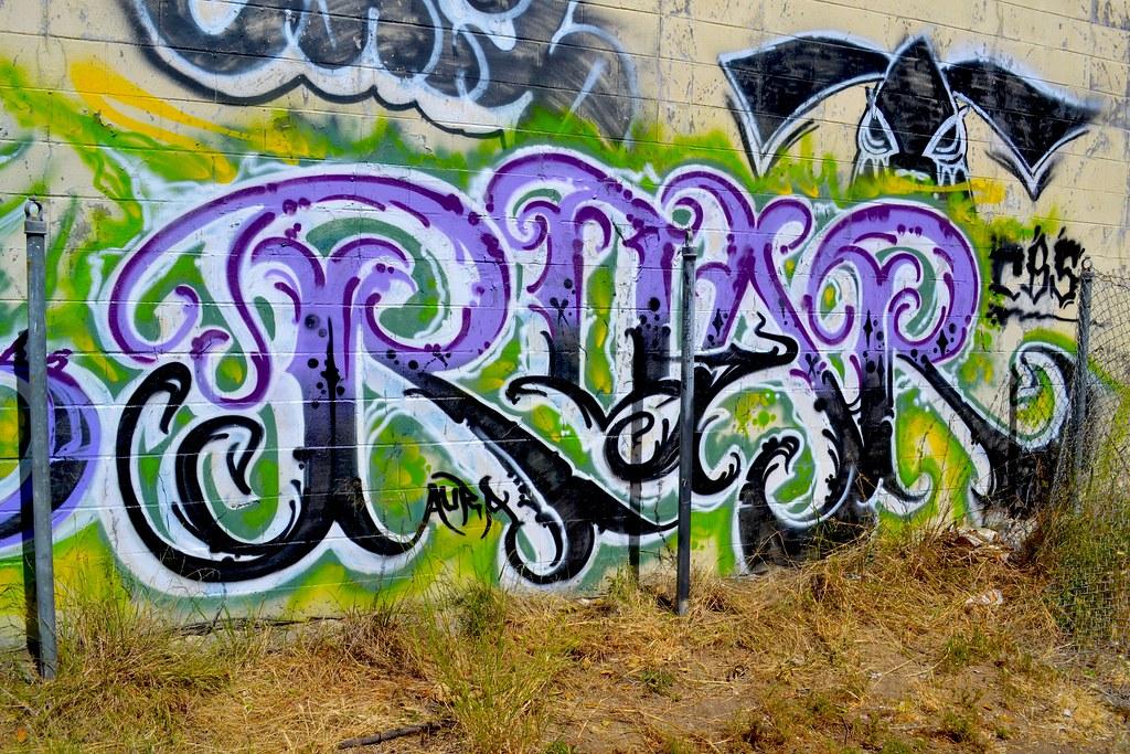 ROAR, CBS, Graffiti, Oakland, the yard