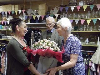 Erdington shop 25th anniversary - Barbara's presentation