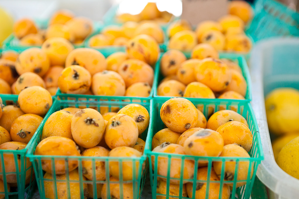 Loquats at the Davis Farmers Market