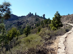 Gran Canaria - Roque Nublo and The Friar in the Spring