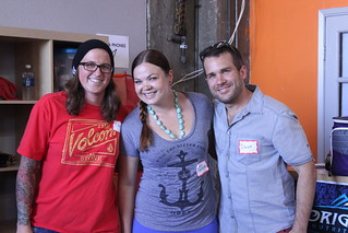 Lauren, Emily and Dave -- Paleo Challenge winners!