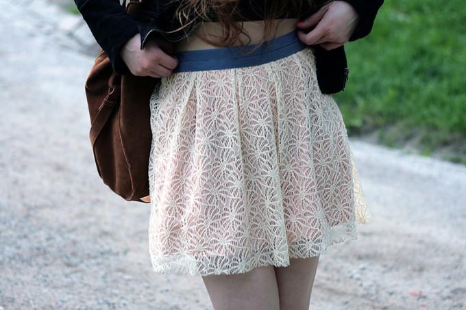 lace skirt ida365