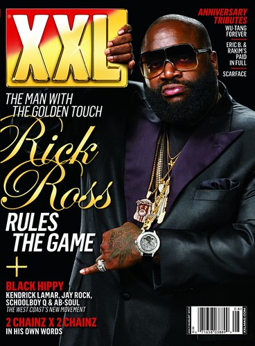 Rick Ross XXL Magazine cover (July/August Issue)