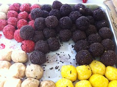 Free gluten free cake balls today at Cupcakefest! by Rachel from Cupcakes Take the Cake
