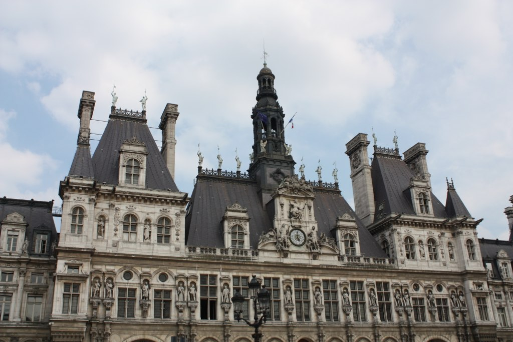 Hôtel de Ville in Paris