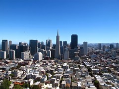 city view from coit tower