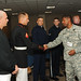RDECOM Command Sgt. Maj. Beharie thanks Color Guard at eCYBERMISSION