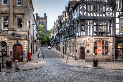 St Werburgh Street 2012, Chester by Mark Carline