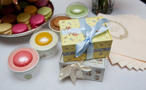 Ladurée's upcoming September 2012 boxes - Louise and Julie prints