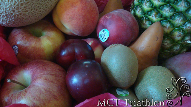 Fruit Gift Basket by MCT Triathlon - The Healthy Alternative to a Birthday Present