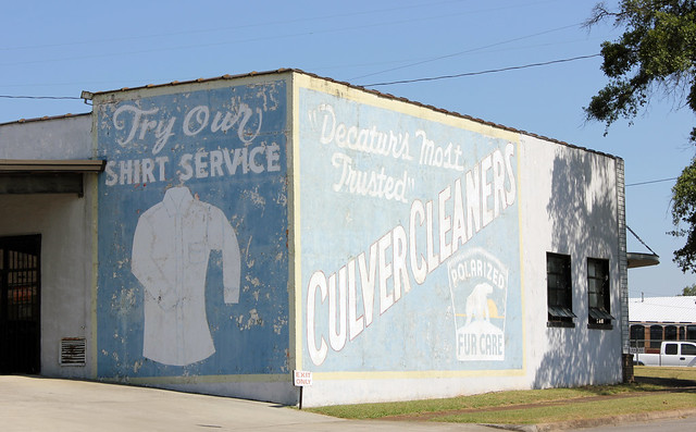 Culver Cleaners Sign, Decatur AL