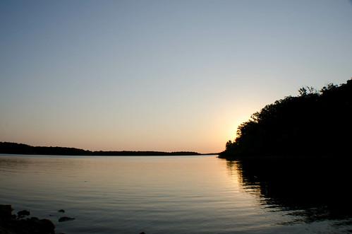 lake water silhouette sunrise stockton stocktonlake