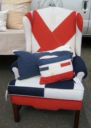 Nautical upholstery