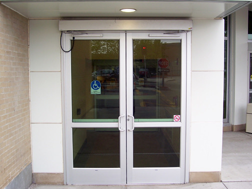 Automatic swinging doors flickr photo sharing