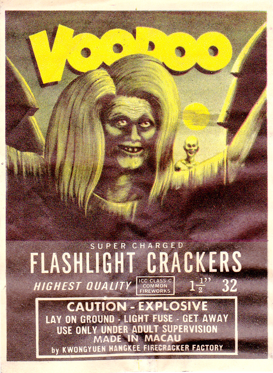 Voodoo - Firecracker Pack Label
