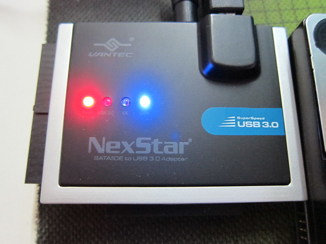 Vantec NexStar SATA/IDE to USB 3.0 Adapter - LED Lights