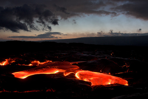 The Big Ooze: Hot Lava from Kilauea